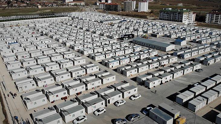Elazığ'da 4 bin 613 kişi konteyner evlerde yaşamaya başladı!