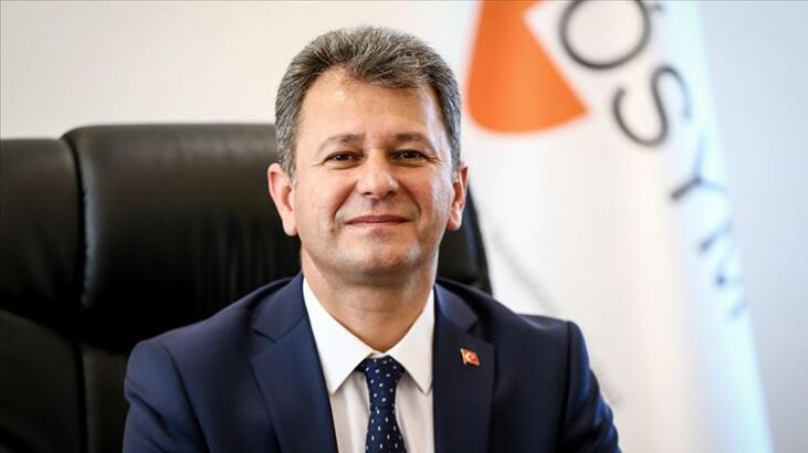 ÖSYM Başkanı Aygün'den ertelenen YKS'ye ilişkin paylaşım