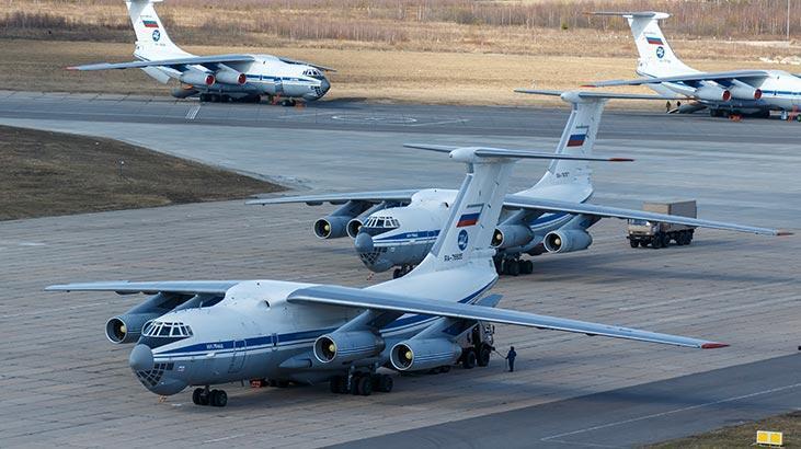 Çarpıcı iddia: Tıbbi malzeme yardımı götüren uçak engellendi
