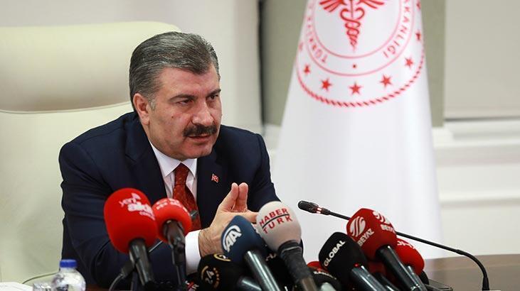 Son dakika | Sağlık Bakanı Koca: Can kaybı 75 oldu, toplam vaka sayısı da 3.629'a yükseldi