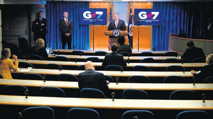 ABD'nin inadı G7'yi kilitledi!