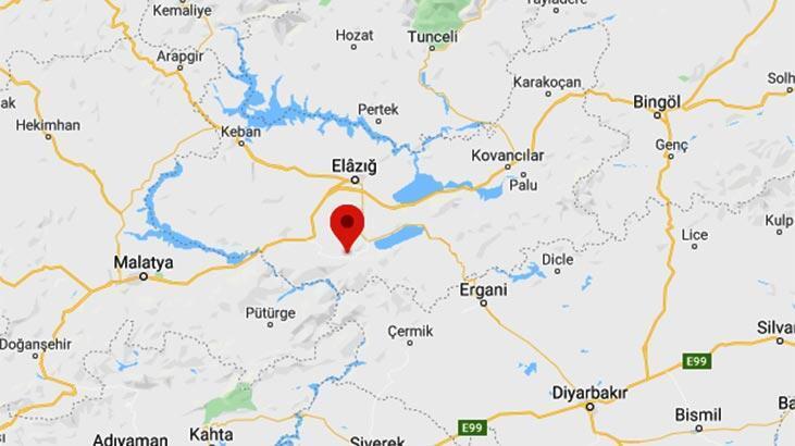 Son dakika | Elazığ'da 3.9 büyüklüğünde deprem