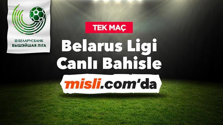 Belarus Ligi hem Tek Maç'larla hem de Canlı Bahis'le Misli.com'da!