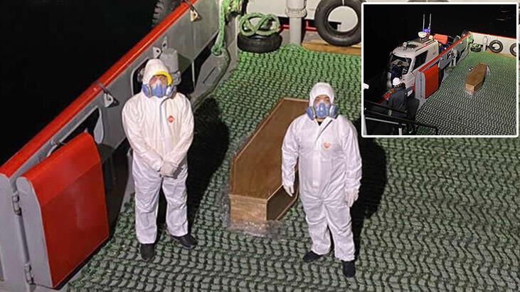 Çinli şirkete ait geminin kaptanı İstanbul'da corona virüsünden hayatını kaybetti