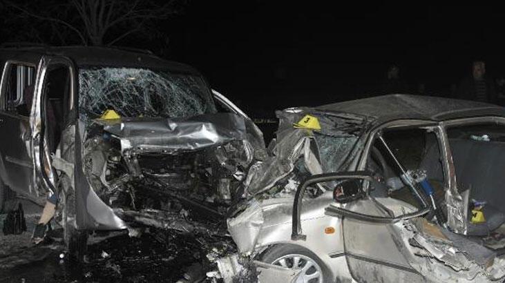 4 kişinin öldüğü kazada Adem de kurtarılamadı!