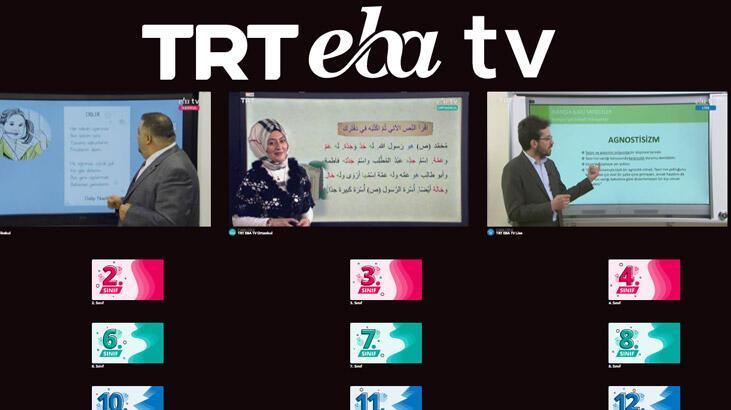 Dersler başladı! EBA TV 1 Nisan canlı yayın izle! EBA TV 1 Nisan ders programı ve frekans bilgileri...