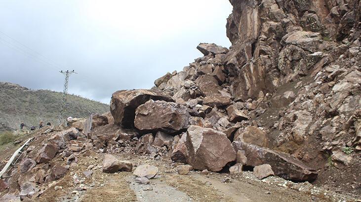 Sason'da heyelan nedeniyle 25 köy yolu kapandı