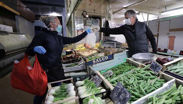 Gıda alışverişinde corona virüsten korunma yolları