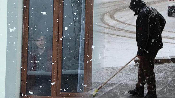 Karlıova Nisan'ı karla karşıladı!