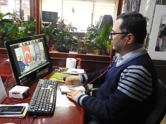 Çorum'da telekonferanslı basın toplantısı düzenlendi