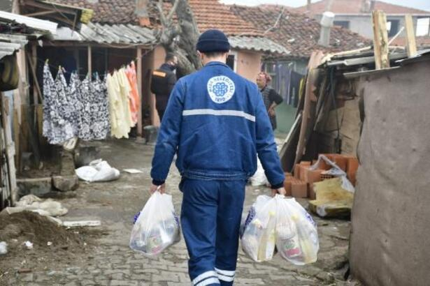 Biga Belediyesi, koronavirüse karşı mücadeleyi sürdürüyor