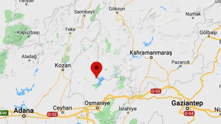 Son dakika | Osmaniye'de 3.4 büyüklüğünde deprem