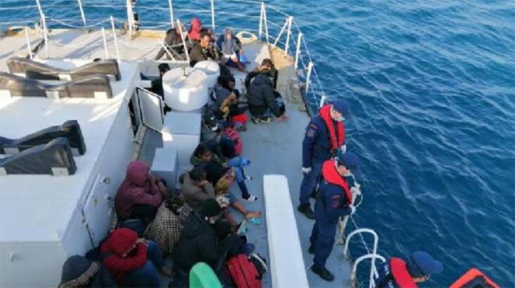 Yunan askerinin denize bıraktığı göçmenleri Türk Sahil Güvenliği kurtardı