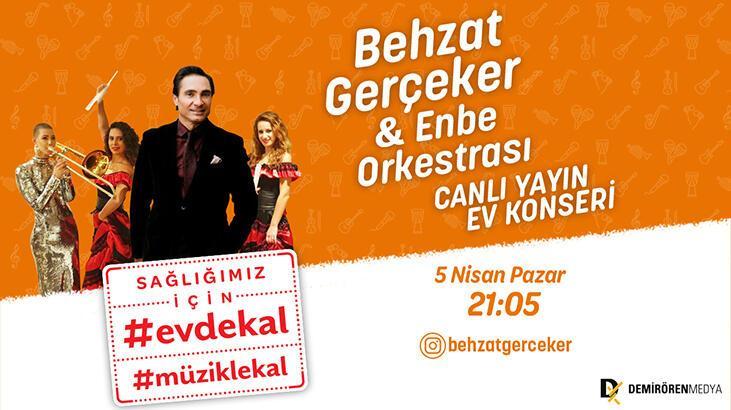 Behzat Gerçeker ve ENBE Orkestrası canlı yayında!