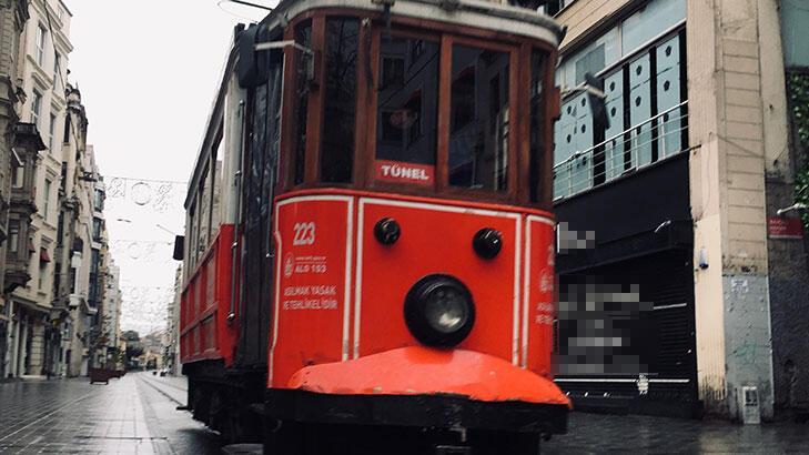 Nostaljik tramvay  21.00'da geçici olarak durdurulacak
