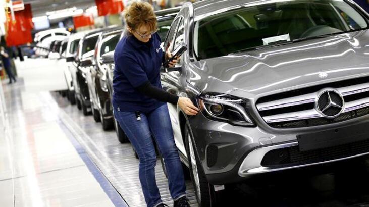 Alman otomotiv sektörü ihracat beklentisi son 11 yılın en düşüğünde