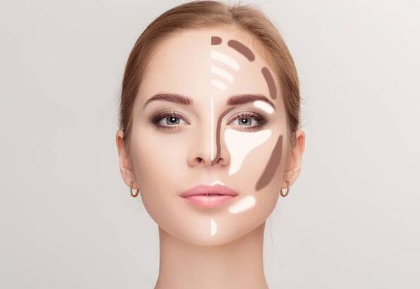 Yüzünüzü olduğundan daha ince gösterecek makyaj teknikleri