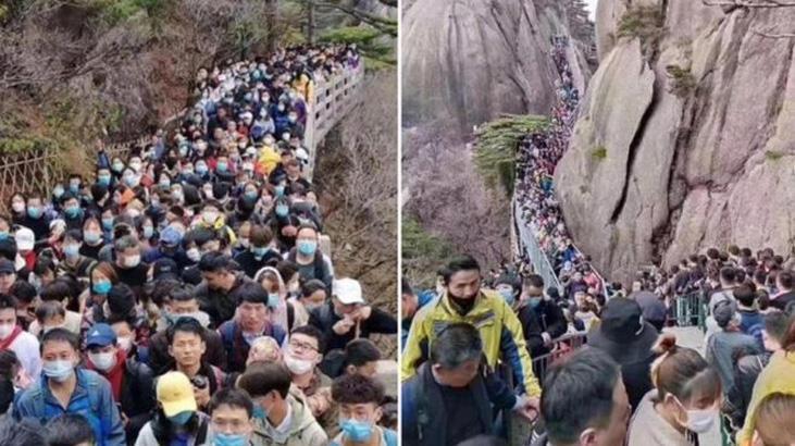 Çin'de karantina yasakları hafifletildi, on binlerce kişi parklara akın etti