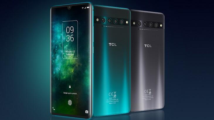 TCL yeni 10 serisi akıllı telefonlarını tanıttı!