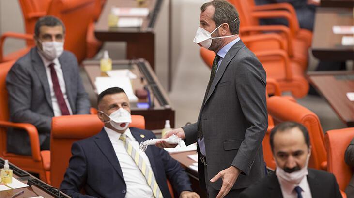 Meclis'te maskeli oturum!