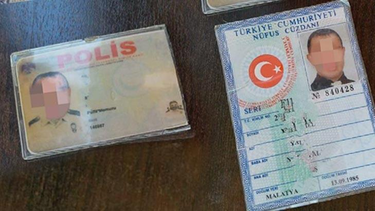 Malatya'da bir kişi sahte polis kimliğiyle yakalandı!