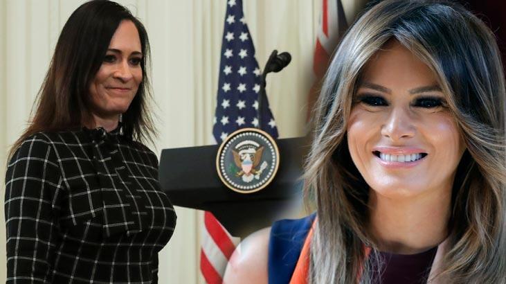 Beyaz Saray Sözcüsü Grisham görevinden ayrıldı! Melania Trump mutlu oldu...