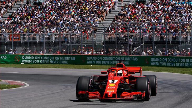 Formula 1'de Kanada Grand Prix'si ertelendi