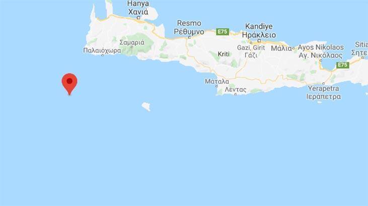 Son dakika haberi... Akdeniz'de 4,3 büyüklüğünde deprem