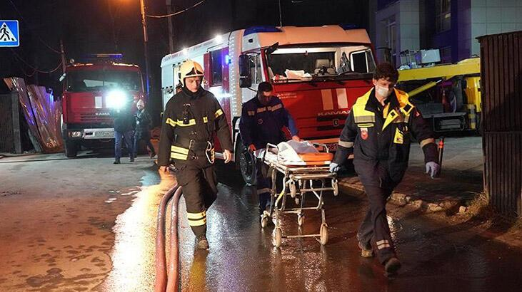 Rusya'da huzurevi yangını: 4 ölü