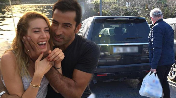 Sinem Kobal'ın ev alışverişini şoförü yaptı