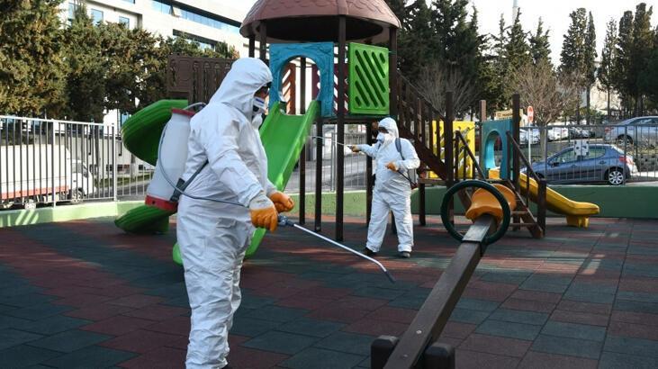 Belediyeden corona virüs mücadelesinde sahada çalışan personele bin lira ikramiye