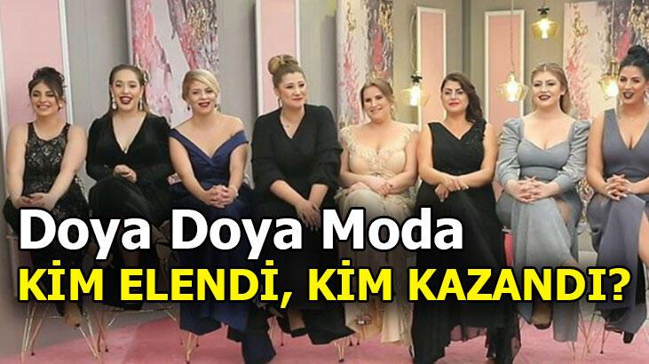Doya Doya Moda bugün kim elendi? Doya Doya Moda kim birinci oldu? İki yarışmacı elendi...