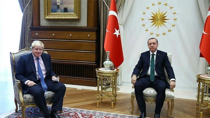 Son dakika | Cumhurbaşkanı Erdoğan'dan İngiltere Başbakanı Johnson'a mektup