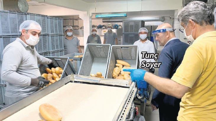 Günde 120 bin ekmek