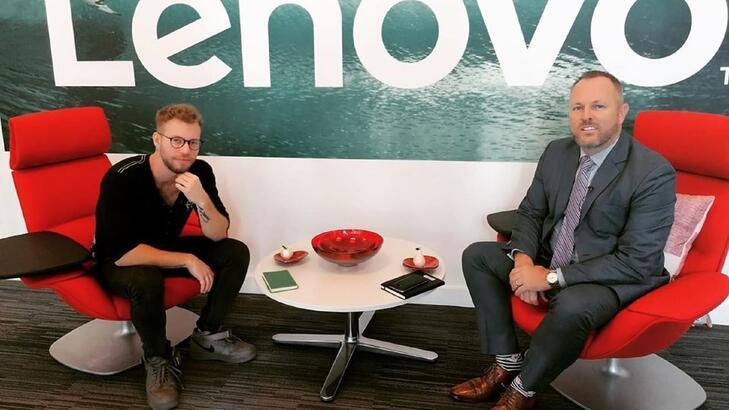 Lenovo Data Center Türkiye, Afrika ve Orta Doğu Başkanı Chris Cooper ile 5G ve blockchain teknolojileri hakkında konuştuk!