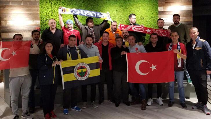 Amerika'daki Fenerbahçeliler'den kampanyaya destek
