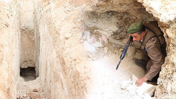 Teröristlerin kullandığı 4 bin tünel imha edildi!