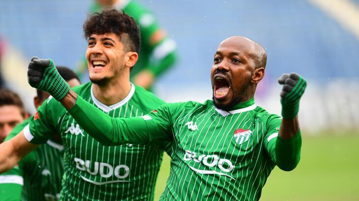 Traore gollerine Bursaspor'da da devam etti