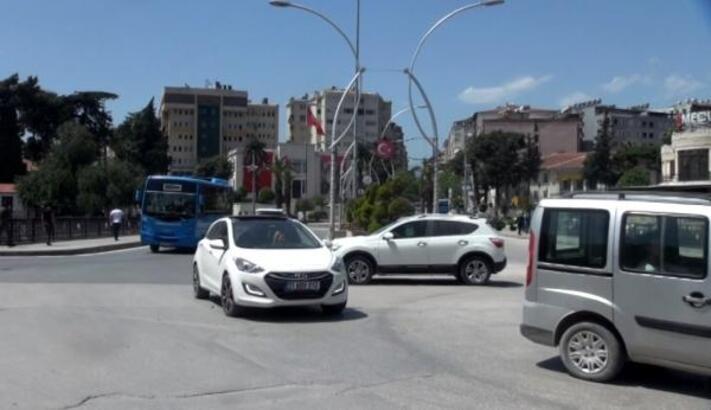 Hatay'da yasağın ardından trafik yoğunluğu oluştu