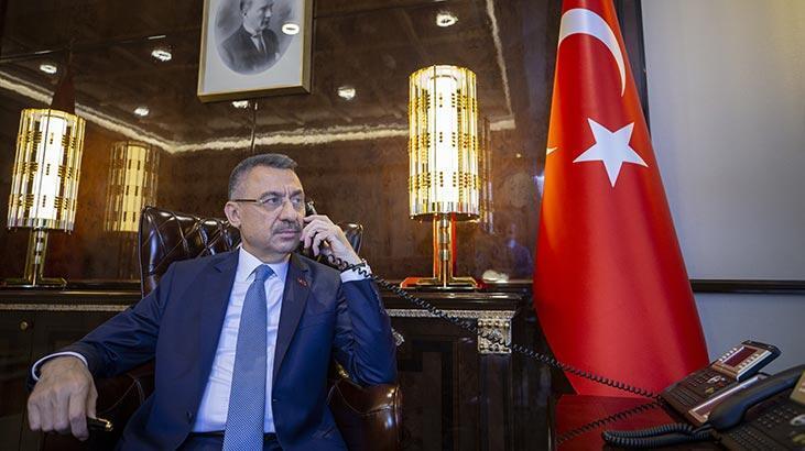 Cumhurbaşkanı Yardımcısı Oktay, Rusya Başbakanı Mişustin ile telefonda görüştü