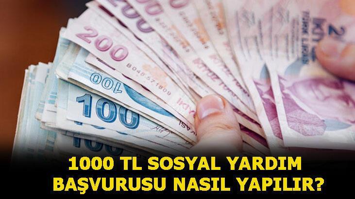 1000 TL sosyal yardım parası başvurusu nasıl yapılır, sonuçlar ne zaman açıklanacak? Sosyal yardım ödemelerini kimler alacak? İşte sorgulama sayfası...
