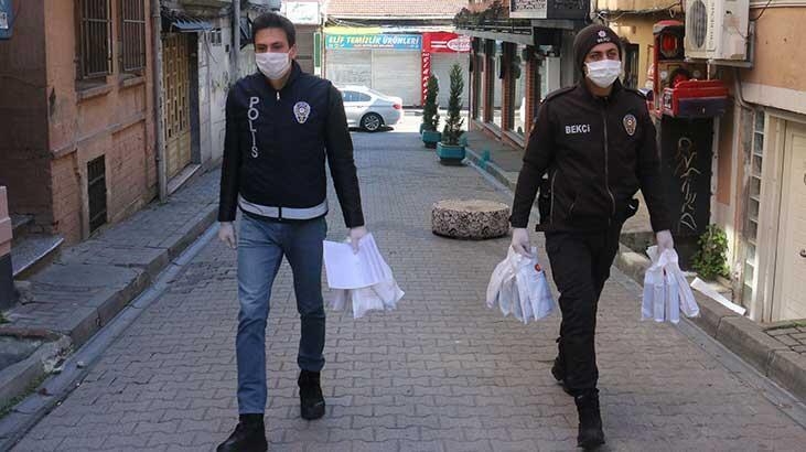 İstanbul'da kolonya ve maske dağıtımı tamamlandı