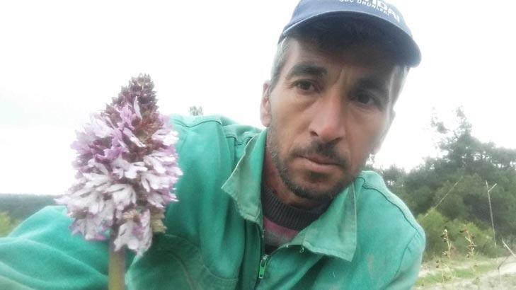 Koparmanın cezası 72 bin lira olan bitkiyle selfie!