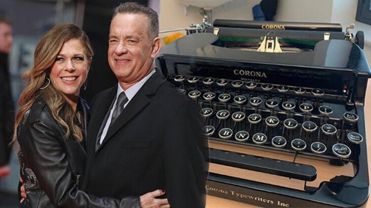 Tom Hanks, 'Corona' adlı çocuğa daktilosunu hediye etti