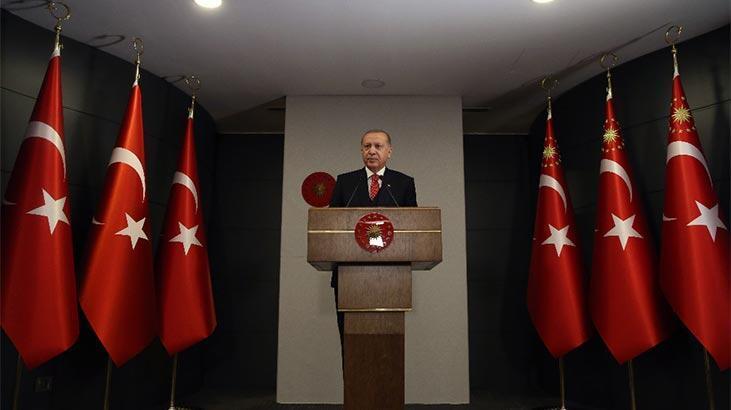 Cumhurbaşkanı Erdoğan'dan çağrı! Saat 21.00'de hep birlikte İstiklal Marşı'mızı okuyacağız