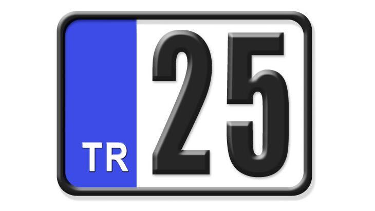 25 Nerenin Plakası? Erzurum İlçelerinin Plaka Kodları Ve Harfleri