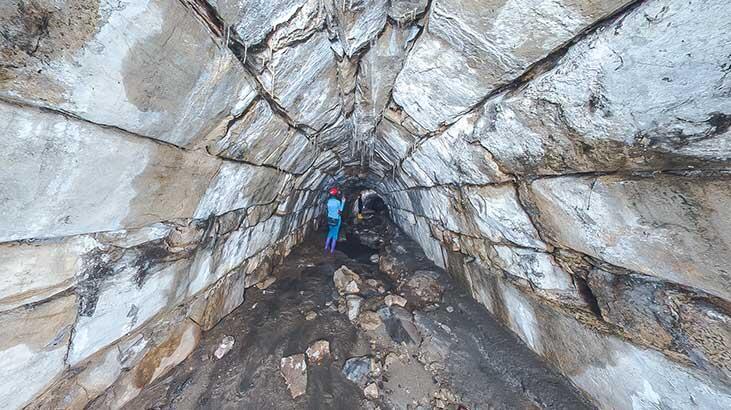 4 asırlık 'gizli tünelleri' şaşkına çeviriyor