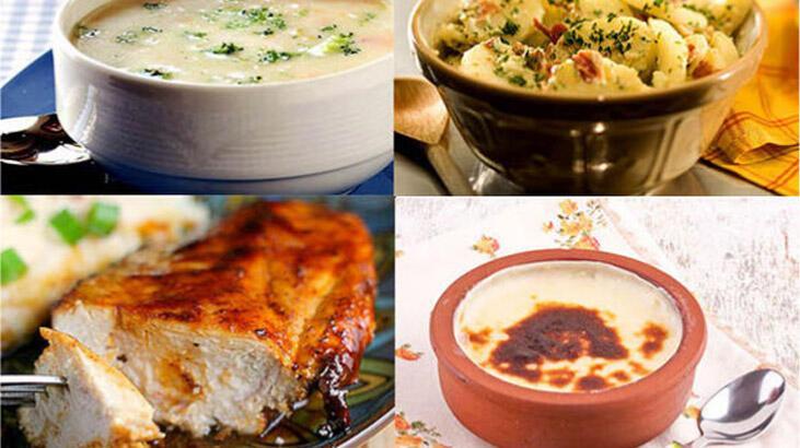 Bugün ne pişirsem? Ramazan ayının 1. gününe özel iftar menüsü