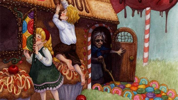 Hansel ve Gretel Masalı Oku - Bir oduncu ve 2 çocuğu…