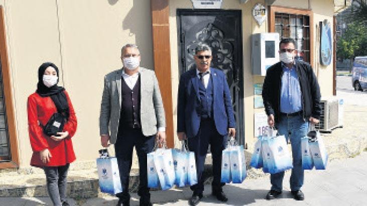 Başkan Çerçi, evleri tek tek ziyaret etti